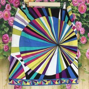 Carlisle Color Burst Skirt Size 10